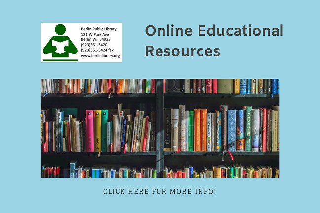 Online Educational Resources for Children and Families