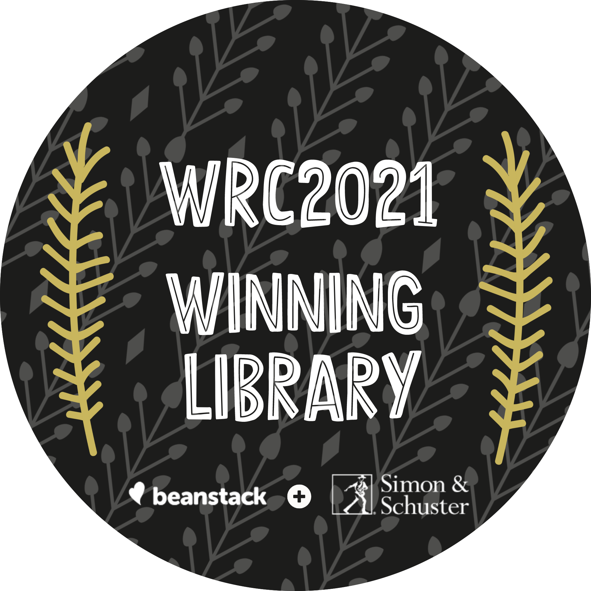 Winter Reading Challenge 2021 Winning Library Badge