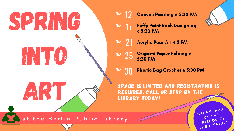 Spring Into Art Month